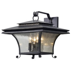 Troy Lighting Grammercy Forged Iron Outdoor Wall Light
