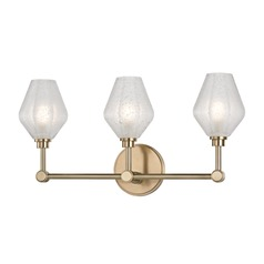 Hudson Valley Lighting Orin Aged Brass LED Bathroom Light
