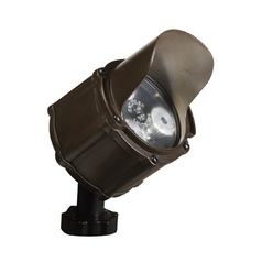 Kichler LED Flood / Spot Light in Bronzed Brass Finish
