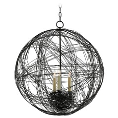 Currey and Company Nido Blacksmith Pendant Light