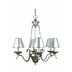 Lite Source Lighting Laurel Pewter Chandelier