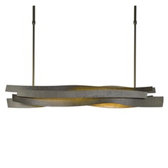 Hubbardton Forge Flux Bronze Island Light