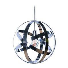 Global Chrome Pendant Light by Kenroy Home