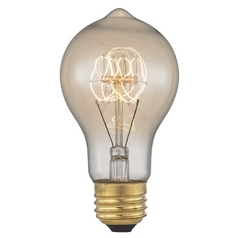 Vintage Edison Carbon Filament Light Bulb - 60-Watts 2400K