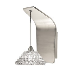 WAC Lighting Giselle Brushed Nickel LED Sconce