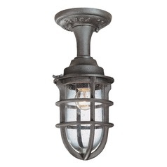Seeded Gl Outdoor Hanging Light Nautical Rust Troy Lighting