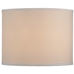 Linen Drum Lamp Shade in Cream