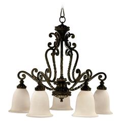 Victorian style lighting victorian chandeliers quorum lighting alameda oiled bronze chandelier mozeypictures Choice Image