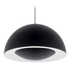 Modern Black LED Pendant 3000K 2000LM