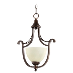 Quorum Lighting Lariat Oiled Bronze Pendant Light