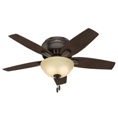42-Inch Hunter Fan Newsome Ceiling Fan with Light - Premier Bronze Finish