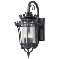 Troy Lighting Greystone Forged Iron Outdoor Wall Light