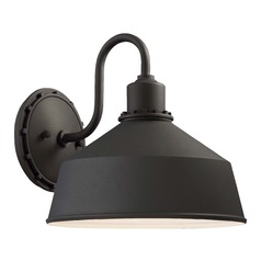 Minka Lavery Mantiel Black Outdoor Wall Light