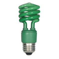 Compact Fluorescent T2 Light Bulb Medium Base 120V by Satco Lighting