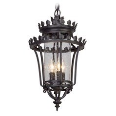 Troy Lighting Greystone Forged Iron Outdoor Hanging Light