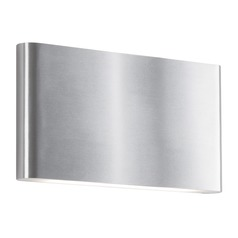 Kuzco Lighting Modern Brushed Nickel LED Sconce 3000K 640LM