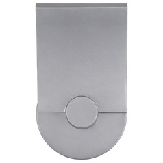 George Kovacs Flipout Sand Silver LED Outdoor Wall Light
