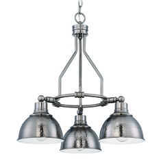 Jeremiah Timarron Antique Nickel Chandelier
