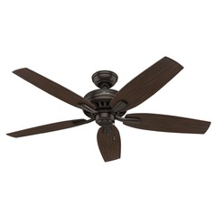 Hunter Fan Company Newsome Premier Bronze Ceiling Fan Without Light