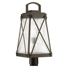 Progress Lighting Creighton Antique Bronze Post Light