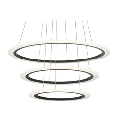 Elan Lighting Hyvo Bronze LED Pendant Light with Abstract Shade