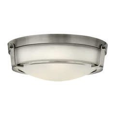 Hinkley Lighting Hathaway Antique Nickel Flushmount Light