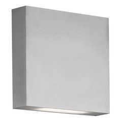 Modern Brushed Nickel LED Outdoor Wall Light 3000K 398LM