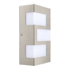 Eglo Ralora Stainless Steel LED Outdoor Wall Light