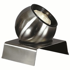 Modern Up Light Lamp in Brushed Steel Finish