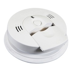 Kidde Safety Fyrnetics Direct Wire Carbon Monoxide/Smoke Alarm with Voice Warning 2106377