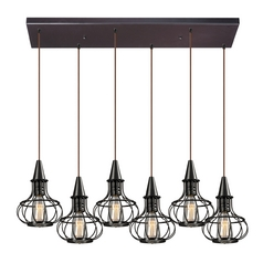 Multi-Light Pendant Light 6-Lights