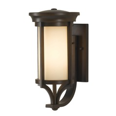 Feiss Lighting Merrill Heritage Bronze LED Outdoor Wall Light