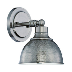 Jeremiah Timarron Antique Nickel Sconce