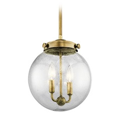 Kichler Lighting Holbrook Mini-Pendant Light with Globe Shade