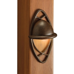 Kichler Deck Light in Textured Tannery Bronze Finish