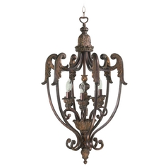 Quorum Lighting Quorum Lighting Madeleine Corsican Gold Pendant Light 6730-6-88