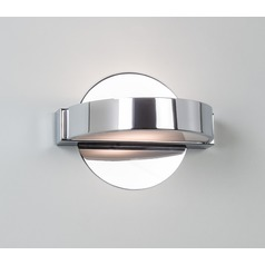 Illuminating Experiences H1406 Satin Chrome Sconce