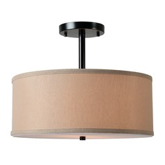 Paige Oil Rubbed Bronze Semi-Flushmount Light by Kenroy Home