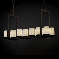 Justice Design Group Fusion Collection Island Light