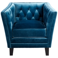 Cyan Design Blue Prince Valiant Blue Chair
