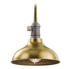 Kichler Lighting Cobson Mini-Pendant Light with Bowl / Dome Shade