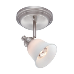 Lite Source Lighting Alcee Polished Steel Sconce