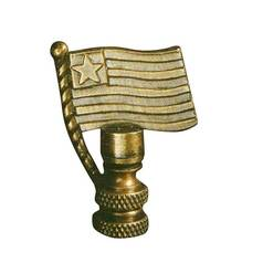 Finial Showcase USA Flag Finial FH B-267A