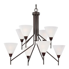 Sea Gull Lighting Ashburne Burnt Sienna Chandelier
