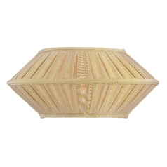 Single-Light Sconce with Pleated Shade