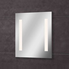 Qute Rectangle 27-Inch Illuminated Mirror