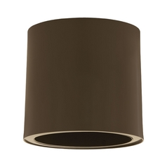 Progress Lighting Modern Close To Ceiling Light in Antique Bronze Finish P6006-20