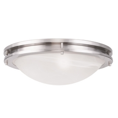 Livex Lighting Ariel Brushed Nickel Flushmount Light
