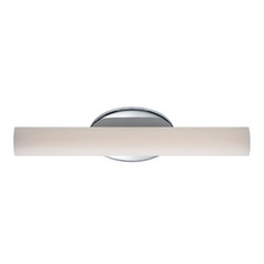 Chrome LED Bathroom Light - Vertical or Horizontal Mounting