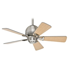 Hunter Fan Company Hunter Fan Company Orbit Brushed Nickel Ceiling Fan Without Light 52022